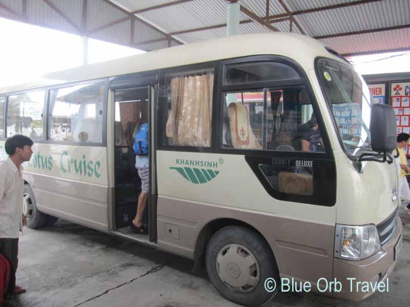 Halong Bay Tour Bus