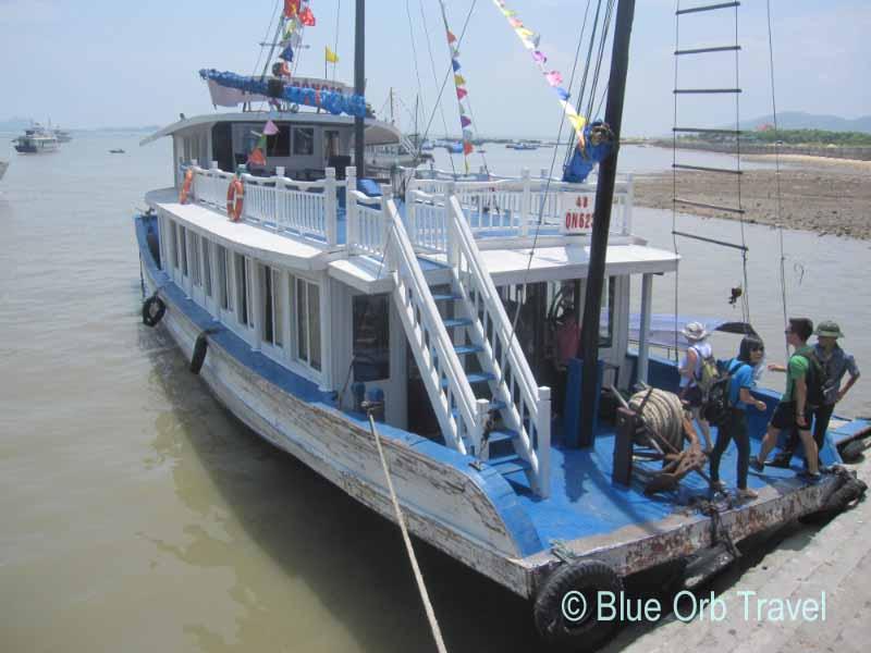 Halong Bay Tour Boat