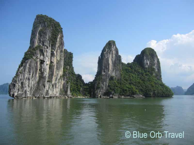 Karst Formations, Halong Bay, Vietnam