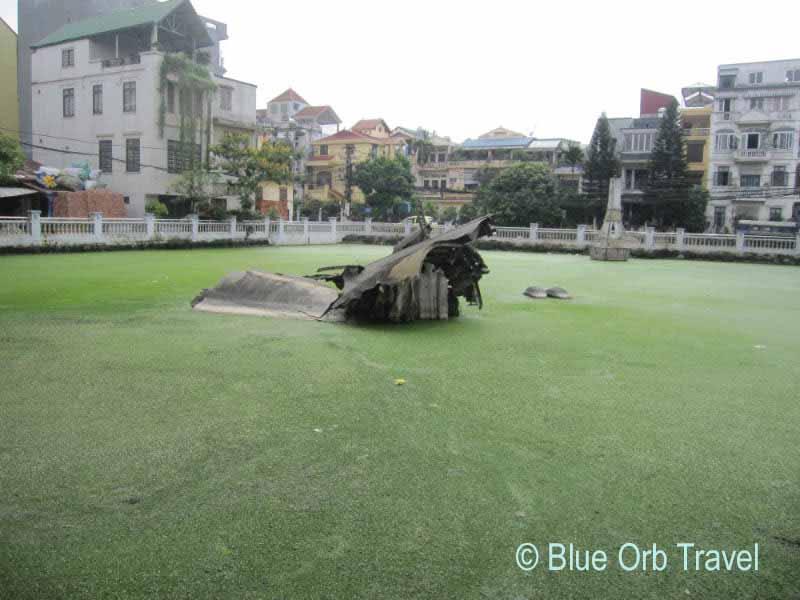 B-52 Crash Site in Hun Tiep Lake, Hanoi