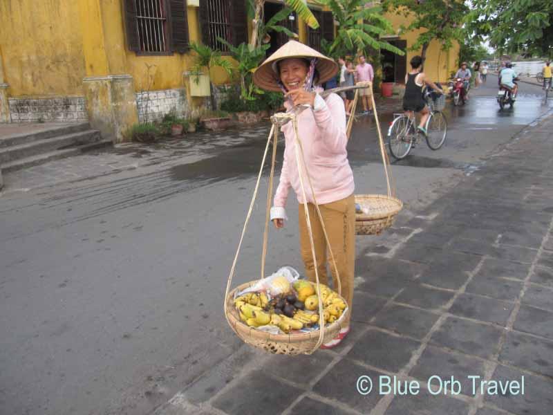 Going to Market, Hoi An, Vietnam