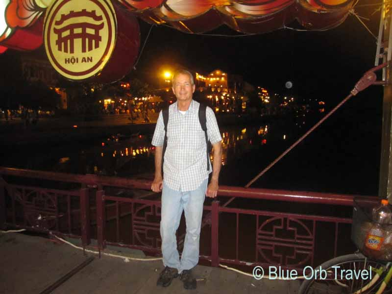 John in Hoi An, Vietnam