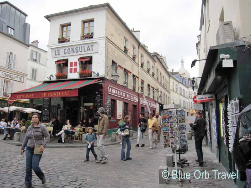 Montmartre in Paris, France