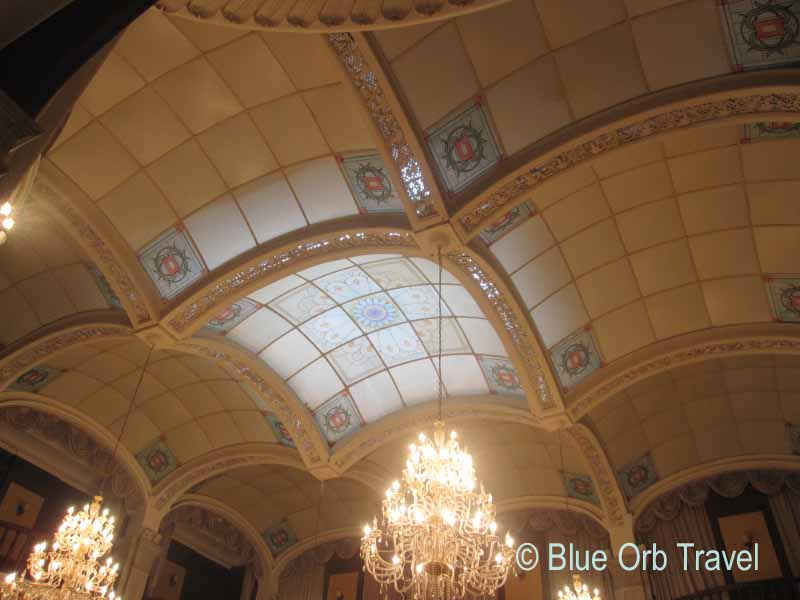 Ceiling in the Dining Room of the Astor House Hotel