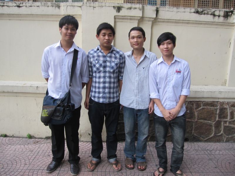 College Students in Saigon