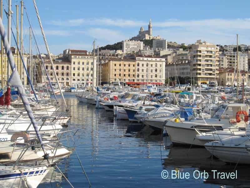 Notre-Dame de la Garde from Vieux Port