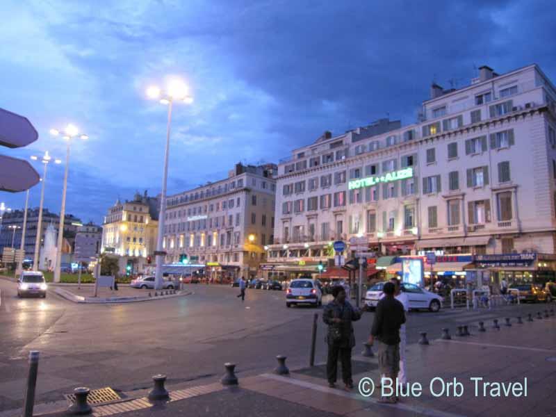 Marseille, France at Night