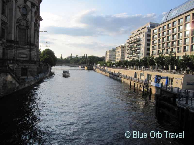 The River Spree, Berlin