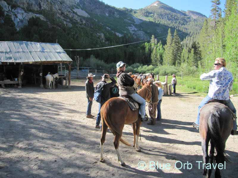 Horseback Riding with Rainbow Outfitters, Bishop, California