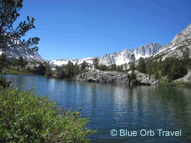Long Lake Near Bishop, California