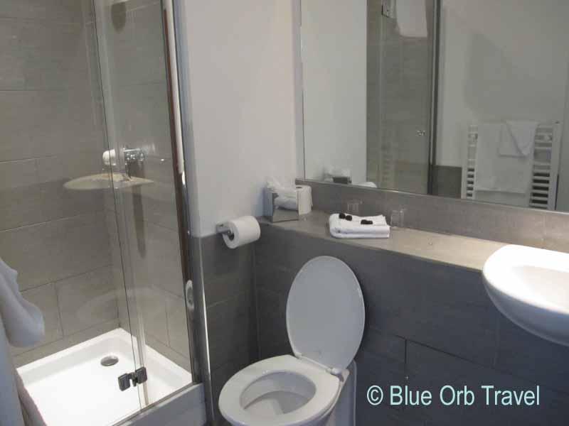 Elegant Bathroom at the Royal Hotel Cardiff
