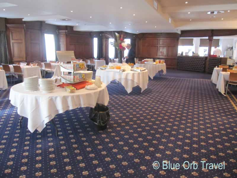 The Dining Room at the Royal Hotel Cardiff