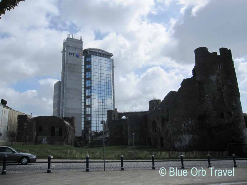 Swansea, Wales...the Old and the New