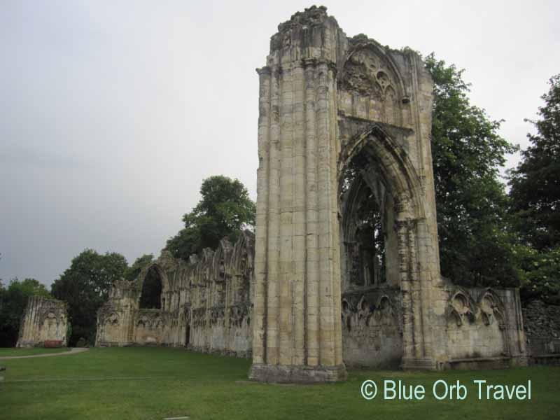Norman Abbey Ruins, York, England