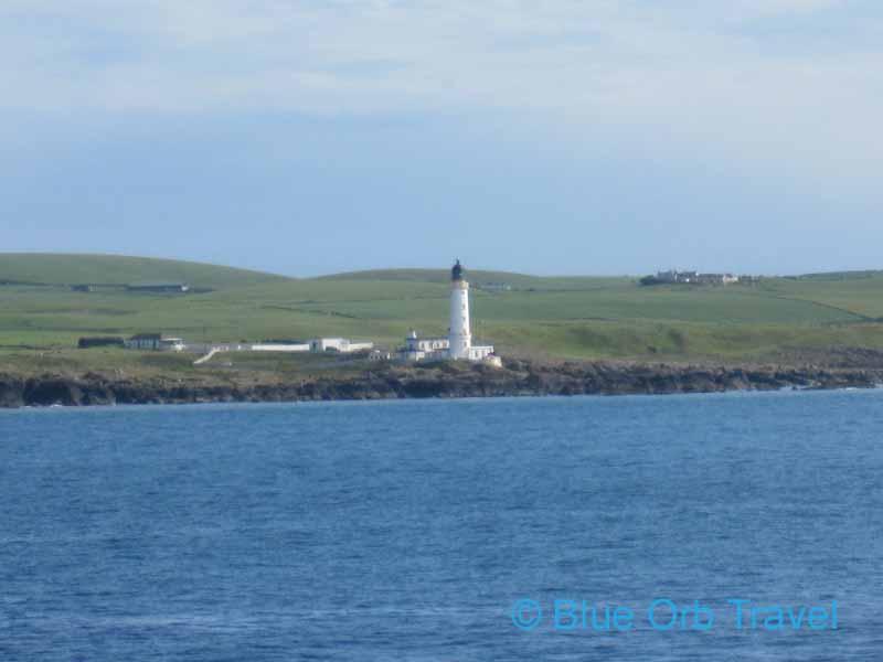 Lighthouse on Loch Ryan, Scotland
