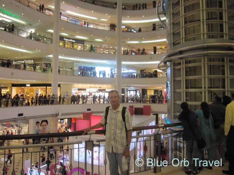 John in the Lobby of the Petronas Twin Towers, Kuala Lumpur
