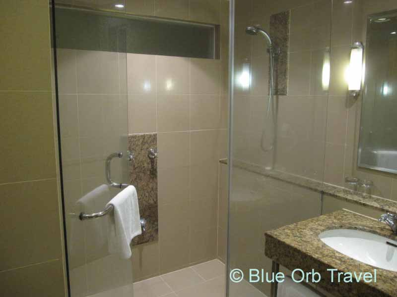 Bathroom at the Hotel Capitol, Kuala Lumpur, Malaysia