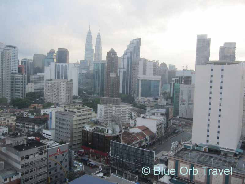 Day View of Petronas Twin Towers from Hotel Capitol Room