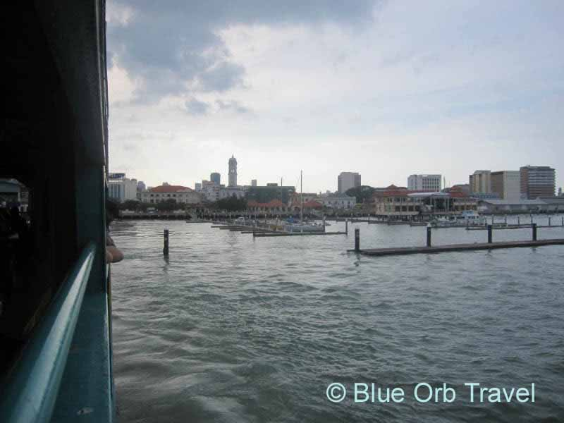 Ferry from Butterworth to Georgetown, Malaysia