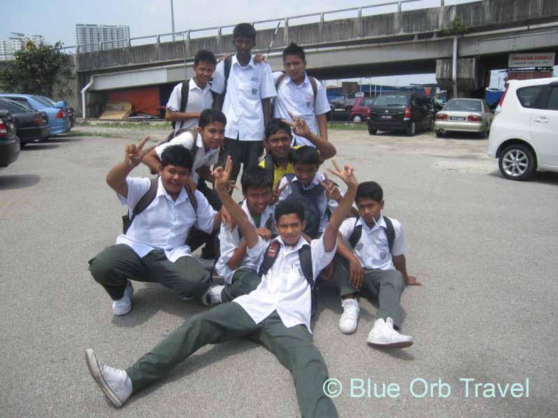 School Boys in Penang, Malaysia