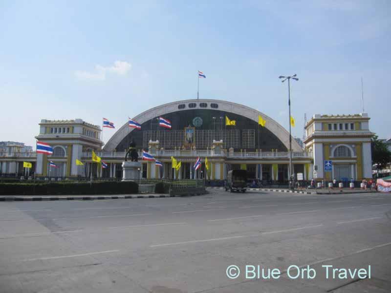 The Hua Lamphong Railway Station, Bangkok