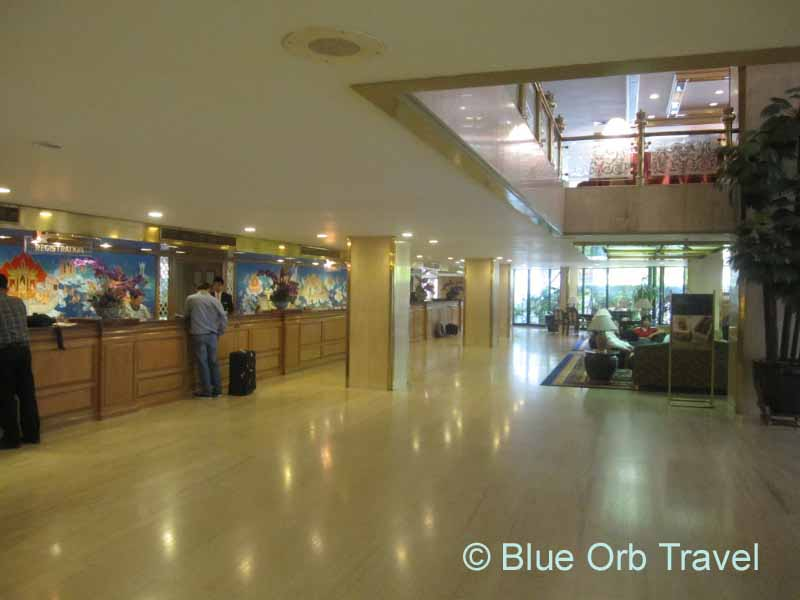 Lobby of the Montien Hotel, Bangkok, Thailand