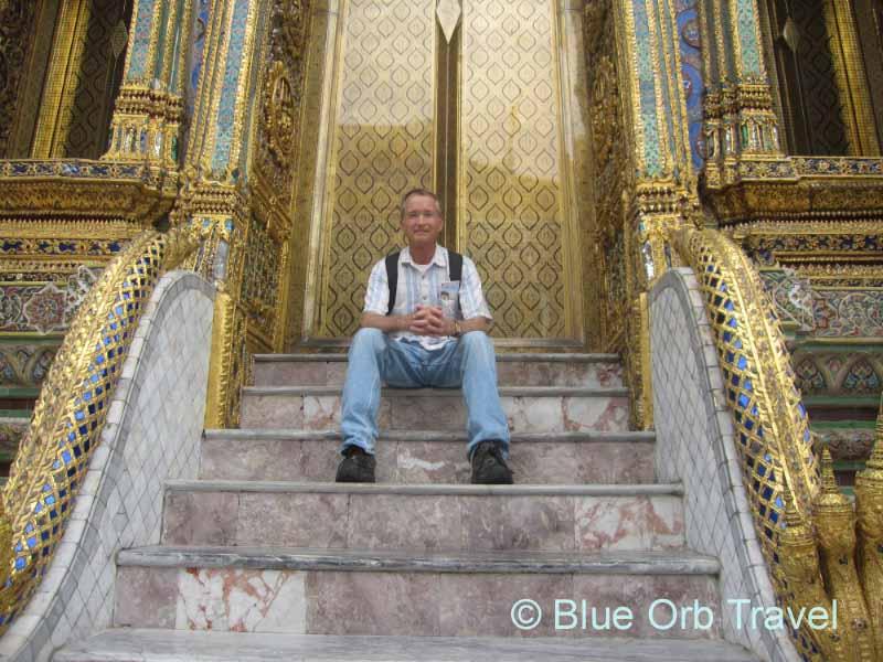 John at the Grand Palace, Bangkok