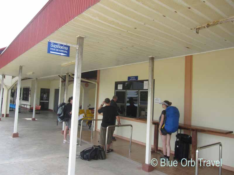Getting a 'Visa on Arrival' at Thanaleng, Laos