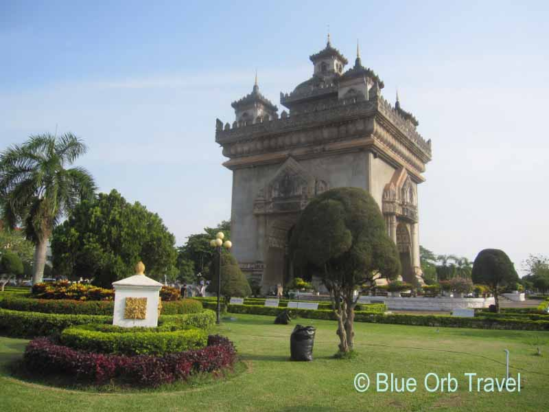 The Victory Gate, Vientiane, Laos