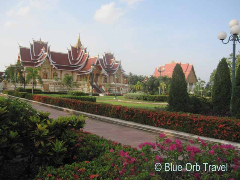 Buddhist Temple on the Grounds of Phra That Luang, Vientiane