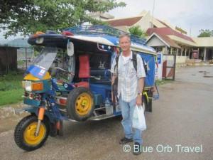 Tuk Tuk in Luang Prabang, Laos