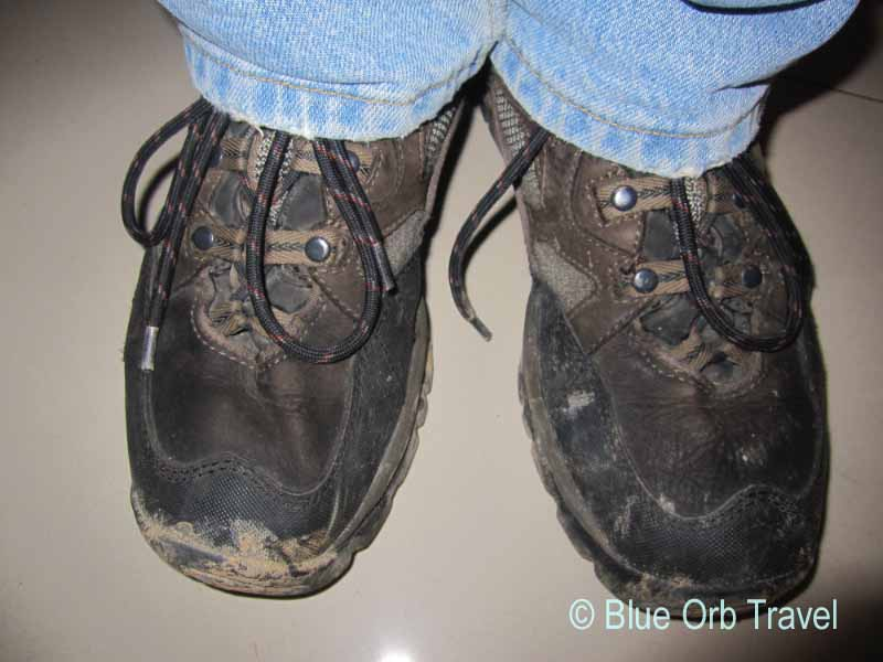 Mud from the Killing Fields on my Shoes!