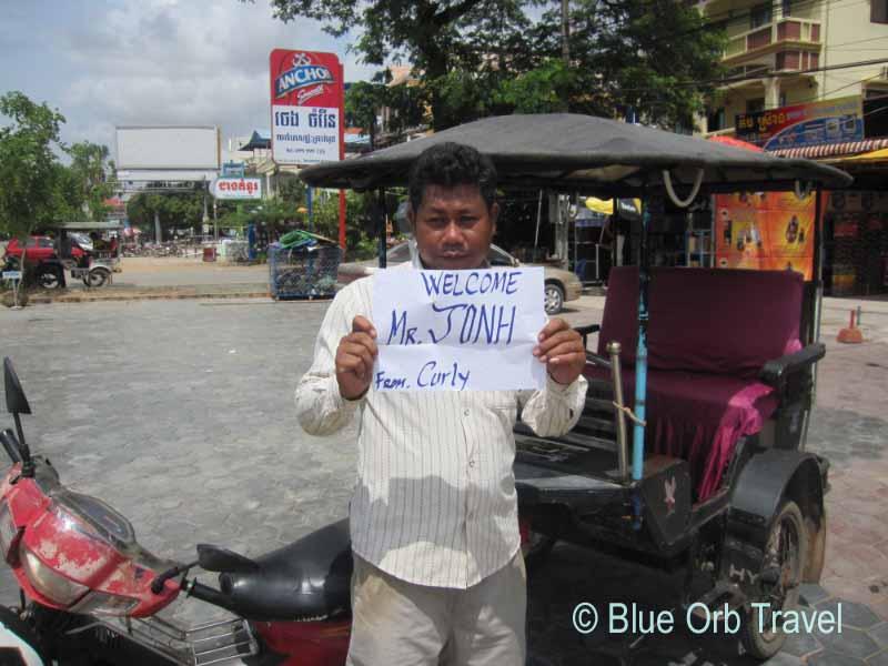 My Tuk-Tuk Driver at Angkor Wat