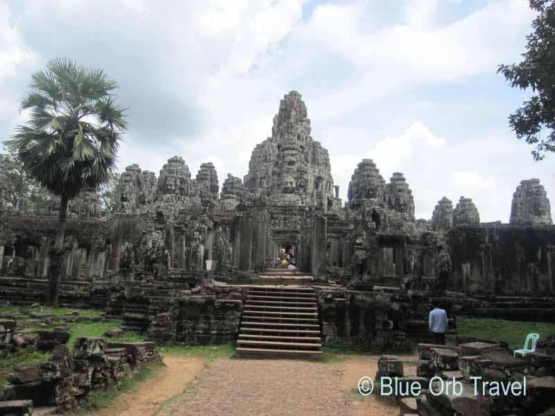 The Bayon Temple at Angkor Thom