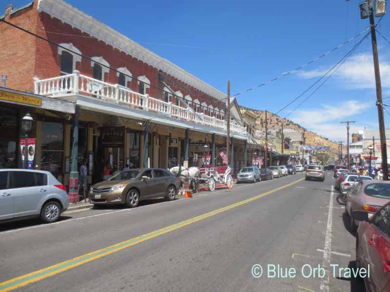 The Main Street of Virginia City, Nevada