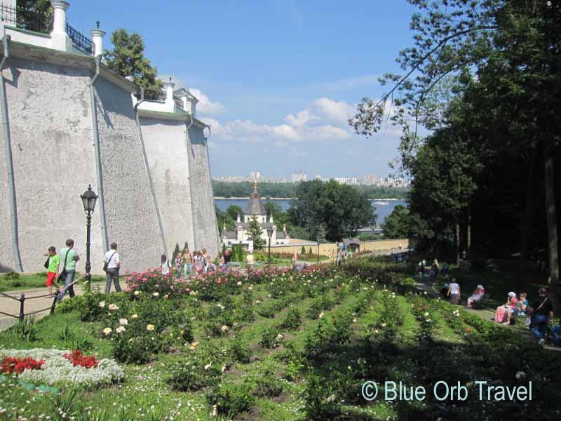 Perchersk Lavra Monastery on the Dnieper River in Kiev, Ukraine