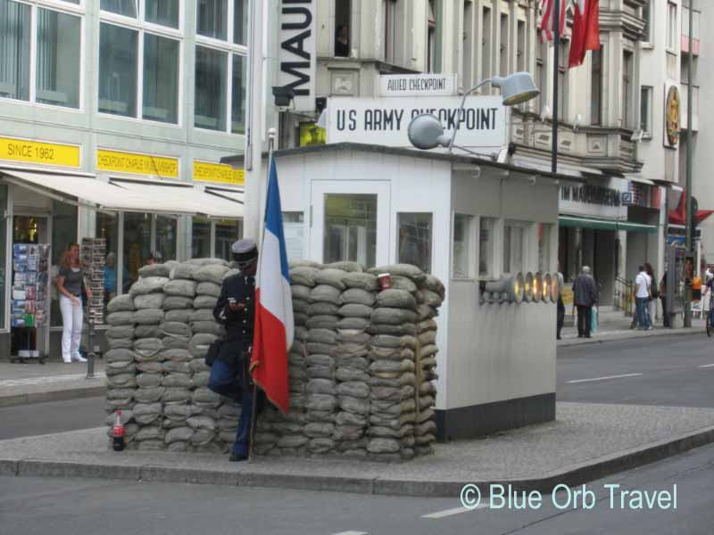 Checkpoint Charlie, Berlin Wall Crossing