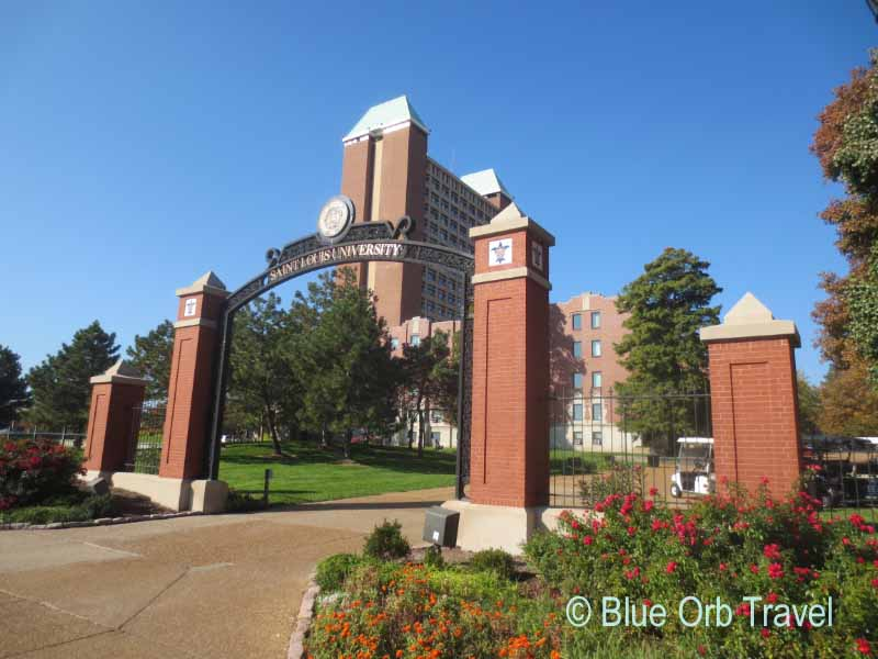 The Beautiful Campus of Saint Louis University