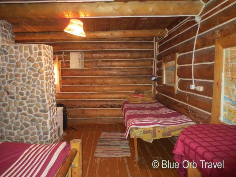 Room at Nikita's Homestead, Olkhon Island, Lake Baikal, Siberia