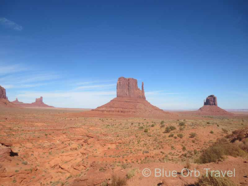 East and West Mitten Buttes, Monument Valley
