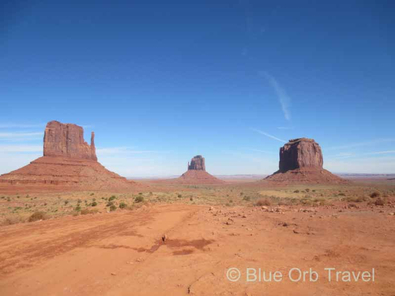 Scenic Drive on Dirt Road in Monument Valley