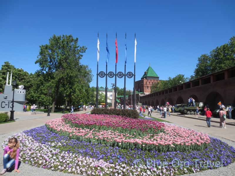 Inside Kremlin at Nizhny Novgorod