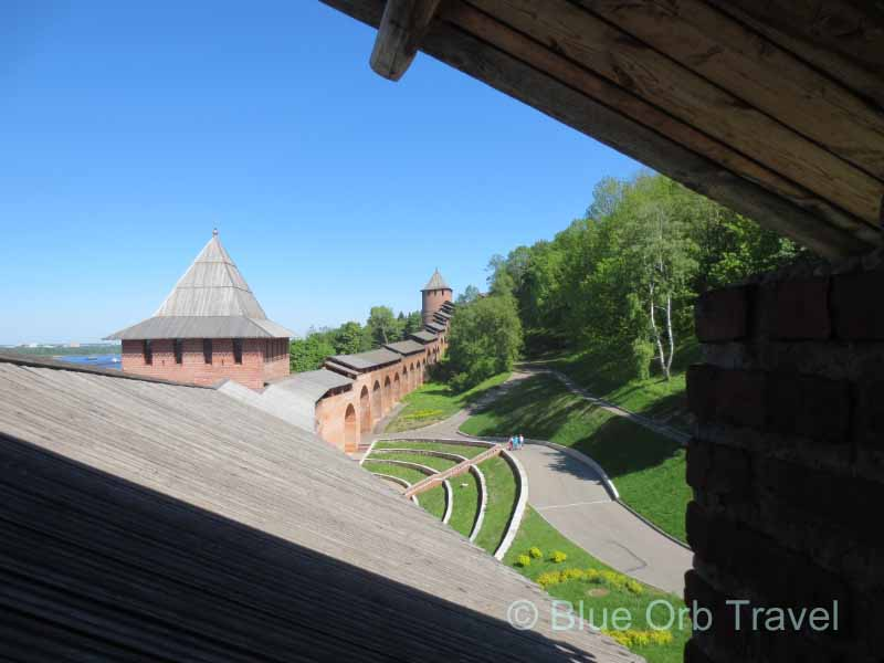 Kremlin Walls Nizhny Novgorod