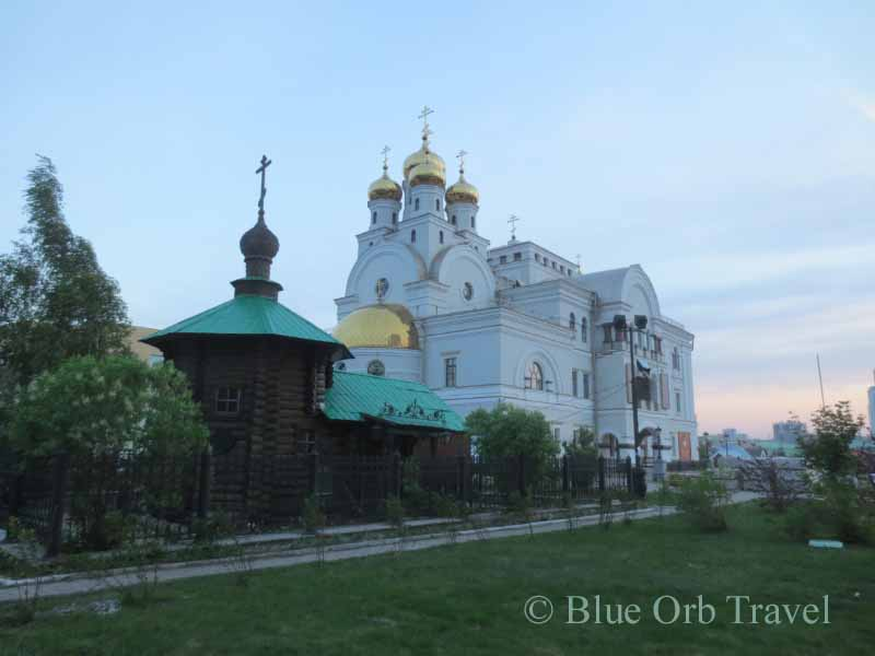 Cathedral at Romanov Death Site in Yekaterinburg, Russia