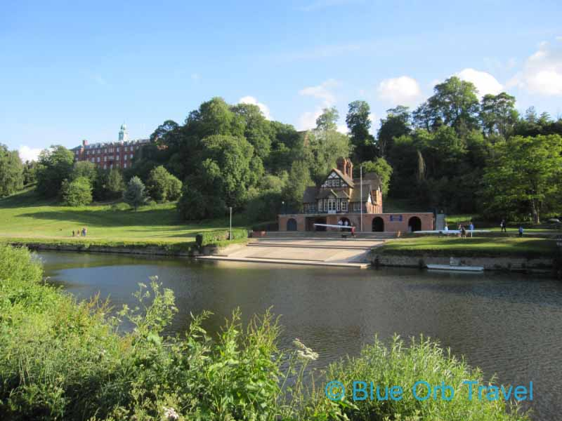 Shrewsbury School Across the River Severn