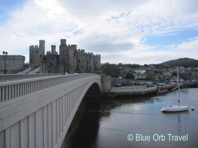 Conwy Castle on the North Coast of Wales