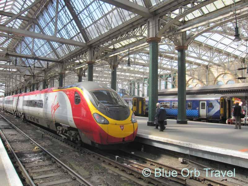 Glasgow, Scotland Train Station