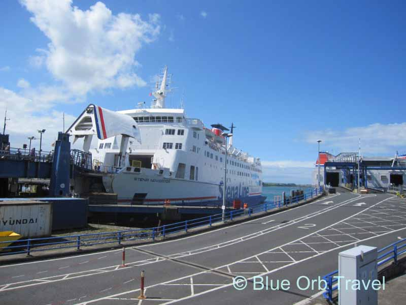 The Ferry at Stranraer, Scotland Going to Belfast, Ireland